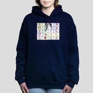 20 Core Words Communication Board Sweatshirt
