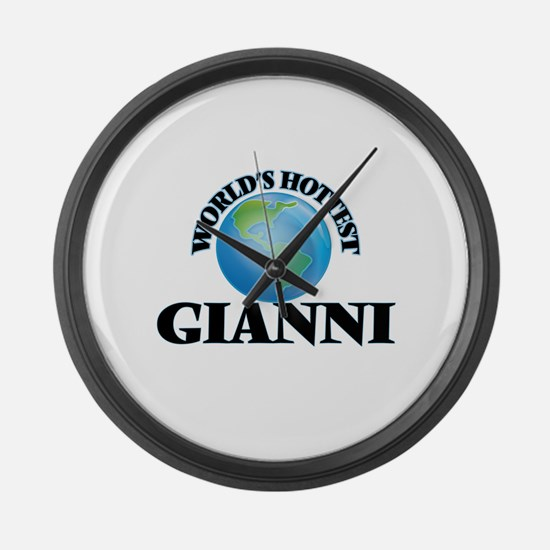 World's Hottest Gianni Large Wall Clock