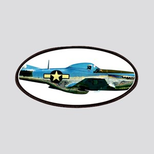 P 51-D Mustang WWII Fighter Plane Patch