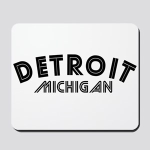Detroit Michigan Mousepad
