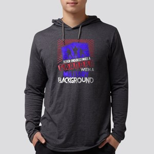 Grandpa With A Military Backgr Long Sleeve T-Shirt