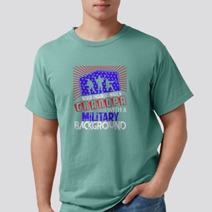 Grandpa With A Military Background T Shirt T-Shirt