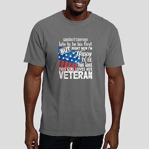 This Girl Loves Her Veteran T Shirt T-Shirt