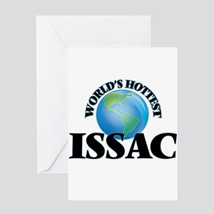World's Hottest Issac Greeting Cards