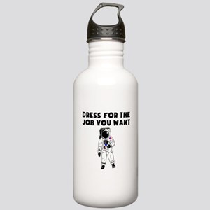 Dress For The Job You Want Water Bottle