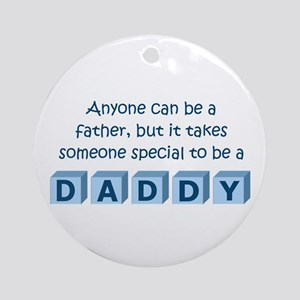 Daddy Ornament (Round)