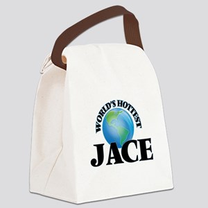 World's Hottest Jace Canvas Lunch Bag