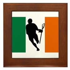 Lacrosse IRock Ireland Framed Tile