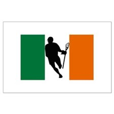 Lacrosse IRock Ireland Large Poster