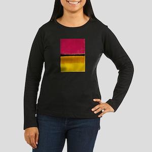 ROTHKO YELLOW BLACK MAGENTA Long Sleeve T-Shirt