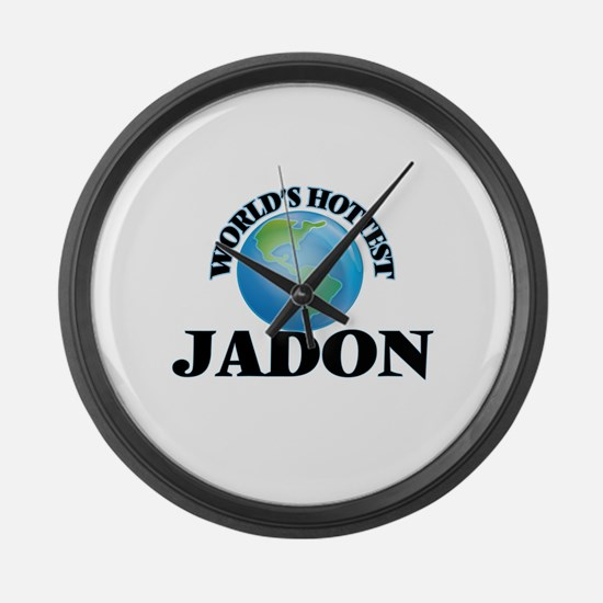 World's Hottest Jadon Large Wall Clock