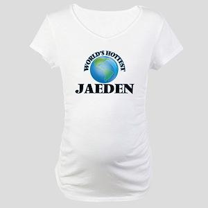 World's Hottest Jaeden Maternity T-Shirt