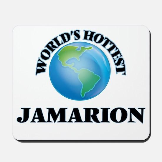 World's Hottest Jamarion Mousepad