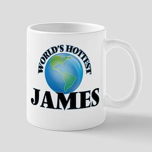 World's Hottest James Mugs