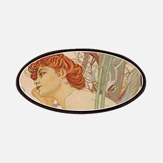 Mucha - Art Nouveau In The Garden Patches