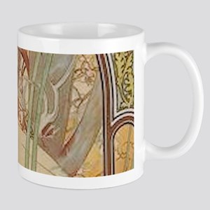 Mucha - Art Nouveau In The Garden Mugs