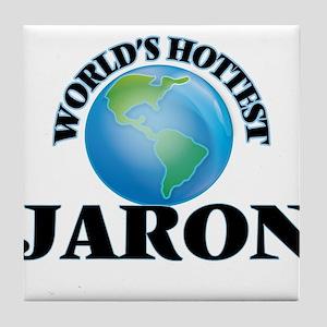 World's Hottest Jaron Tile Coaster