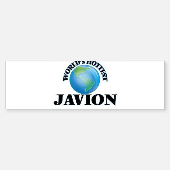 World's Hottest Javion Bumper Bumper Bumper Sticker