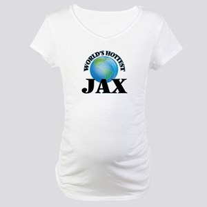 World's Hottest Jax Maternity T-Shirt