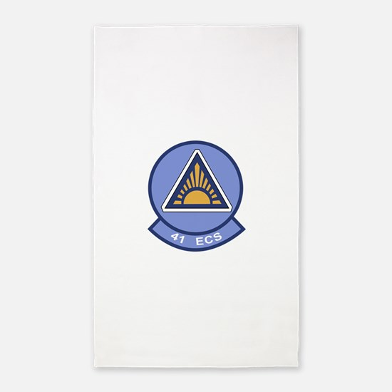 41st Electronic Combat Squadron.png 3'x5' Area Rug