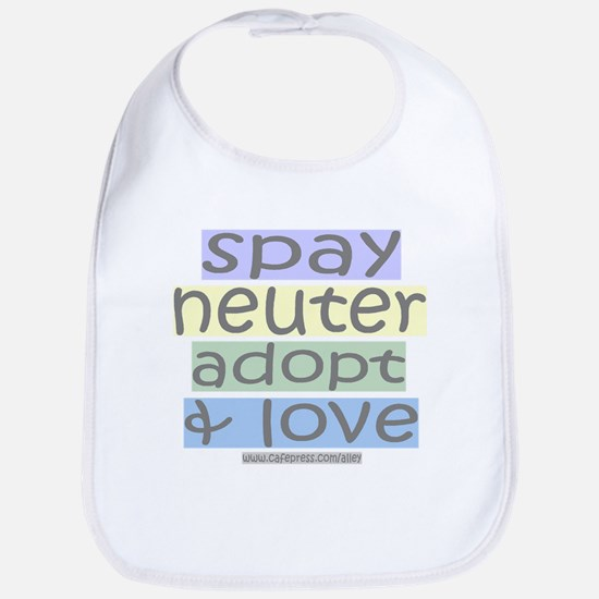 Spay/Neuter/Adopt/Love Bib