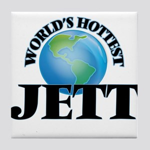 World's Hottest Jett Tile Coaster