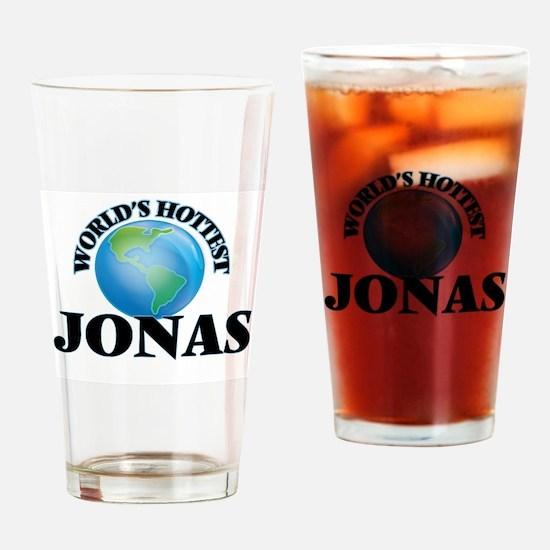 World's Hottest Jonas Drinking Glass