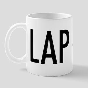 """Pet Word """"Lap Dog"""" Mug"""