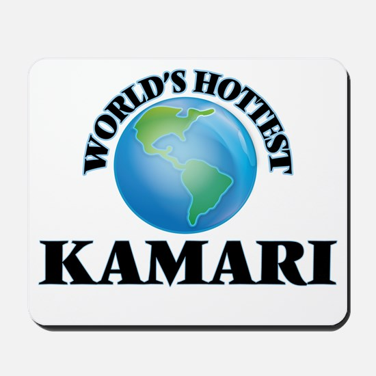 World's Hottest Kamari Mousepad