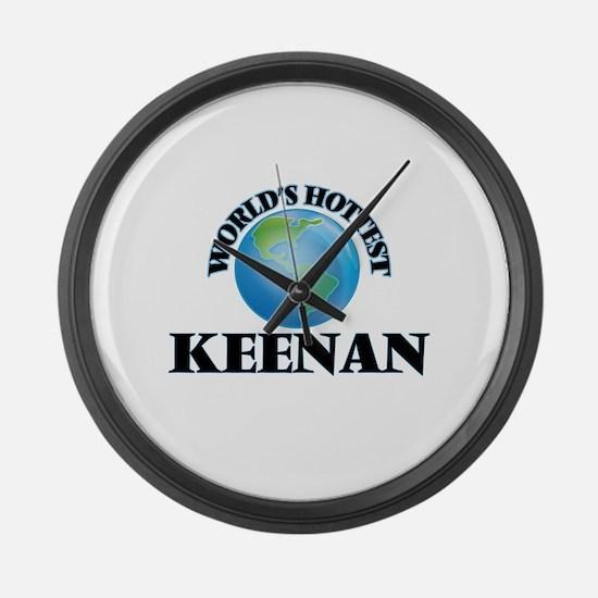 World's Hottest Keenan Large Wall Clock