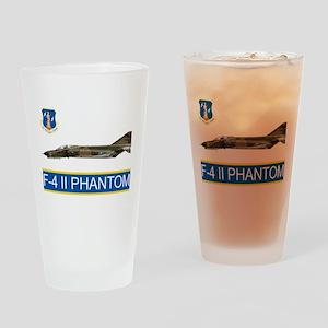 f4grey copy Drinking Glass