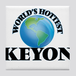 World's Hottest Keyon Tile Coaster