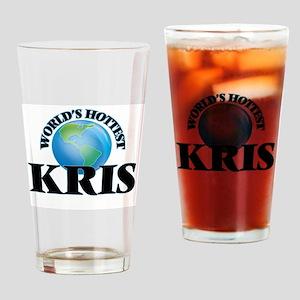 World's Hottest Kris Drinking Glass