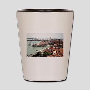 San Giorgio Maggiore Island, Venice Ita Shot Glass