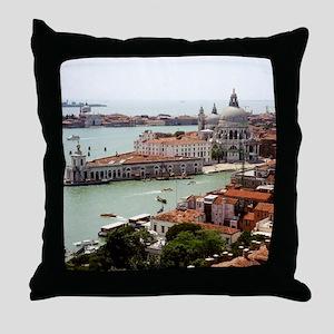 San Giorgio Maggiore Island, Venice I Throw Pillow