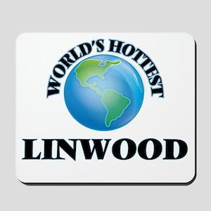 World's Hottest Linwood Mousepad