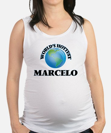 World's Hottest Marcelo Maternity Tank Top