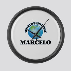 World's Hottest Marcelo Large Wall Clock