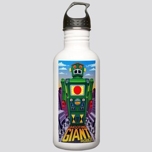 vintage green robot Stainless Water Bottle 1.0L