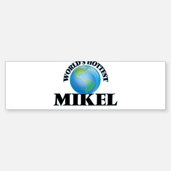 World's Hottest Mikel Bumper Car Car Sticker