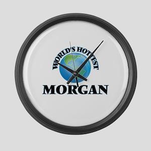World's Hottest Morgan Large Wall Clock