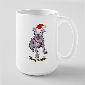 """Holiday """"Gracie"""" Large Mug"""