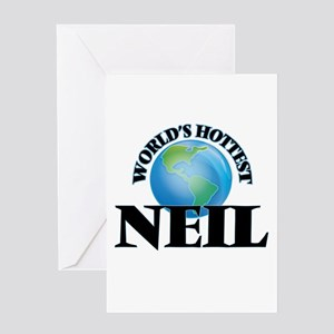 World's Hottest Neil Greeting Cards