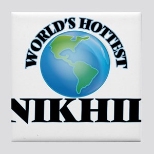 World's Hottest Nikhil Tile Coaster