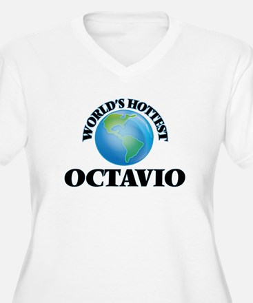 World's Hottest Octavio Plus Size T-Shirt