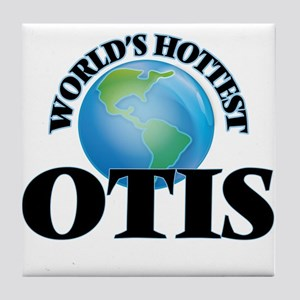 World's Hottest Otis Tile Coaster