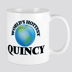 World's Hottest Quincy Mugs