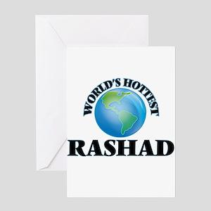 World's Hottest Rashad Greeting Cards