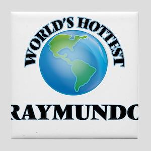 World's Hottest Raymundo Tile Coaster