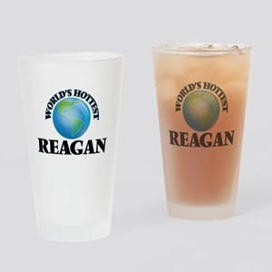 World's Hottest Reagan Drinking Glass
